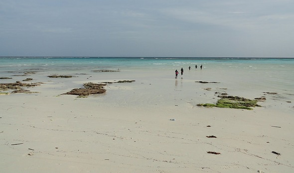 South-west Coast at Low Tide, Mantanani Island, Sabah, Malaysian Borneo