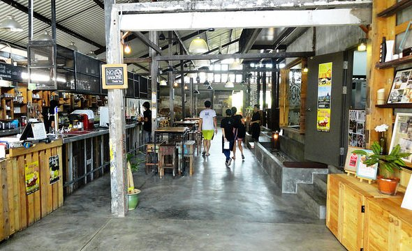 THE GRANARY KITCHEN + BAR, The Marian Boutique Lodging House, Historic District, Kuching, Sarawak, Malaysian Borneo