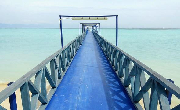 The Pier, Mantanani Island, Sabah, Malaysian Borneo