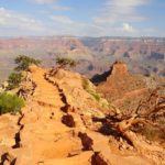 Escursione a Cedar Ridge sul South Kaibab Trail nel Grand Canyon National Park in Arizona