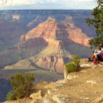 Grand Canyon, Escursione sul Rim Trail da The Abyss a Hopi Point
