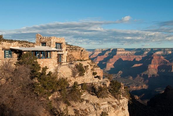 Lookout Studio, Historic District, Grand Canyon Village, Grand Canyon National Park, Arizona