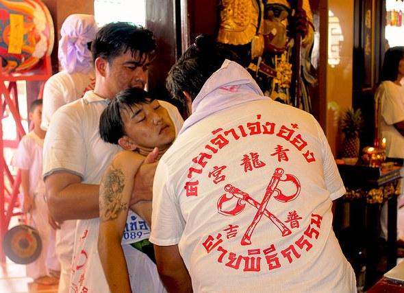 Phuket Festival Vegetariano: l'Abbandono del Corpo