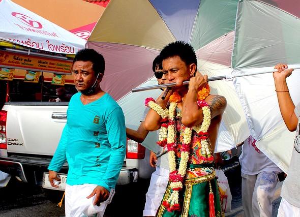 Phuket Festival Vegetariano: gli Dei