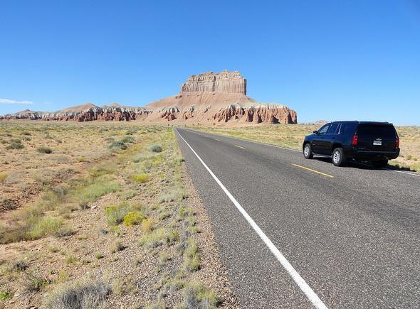 Road to Little Wild Horse Canyon Trailhead, San Rafael Swell, Utah