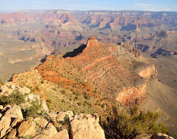 Ooh-Aah Point, South Kaibab Trail, Grand Canyon National Park, Arizona