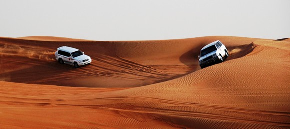 4WD Tour in the middle of the Dunes, Dubai Desert, United Arab Emirates