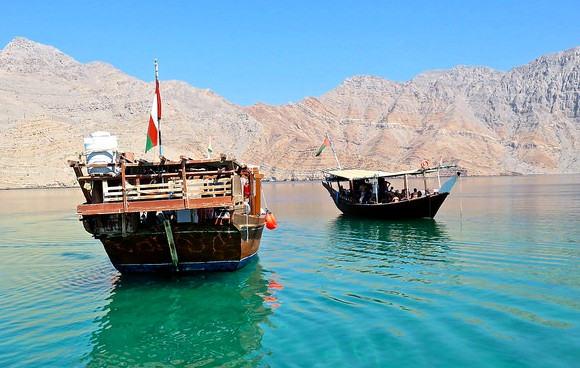 Tour to Khasab Fjords with Dhow Cruise in Musandam Peninsula, Oman, from Dubai