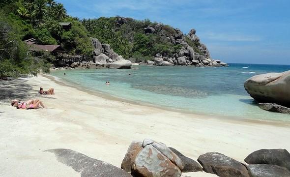 Freedom Beach, Koh Tao, Thailand