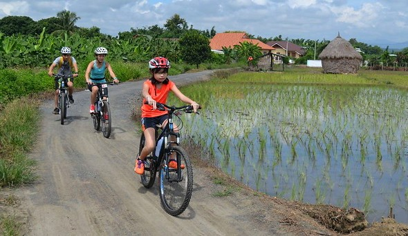 Bike Tour, Mae Sa Valley, North of Chiang Mai, Thailand