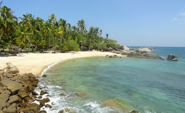 Sai Nuan Beach 1, One of the Best Beaches of Koh Tao, Thailand