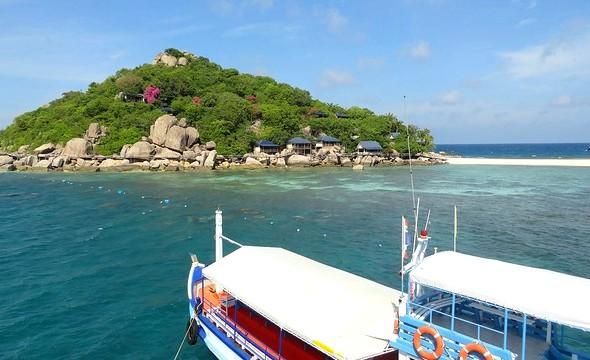 Snorkeling Boat, Nang Yuan Island, Koh Tao, Thailand