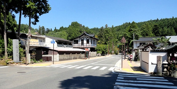 Centre, Koyasan, Japan