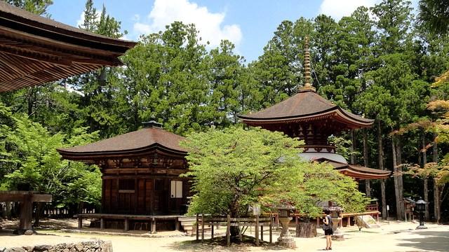 Danjo Garan Complex, Koyasan, Japan