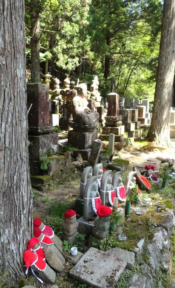 Graves, Okunoin Cemetery, Koyasan, Japan