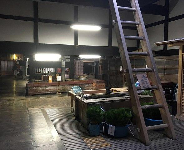 Inside the Kitchen, Kongobu-ji, Koyasan, Japan