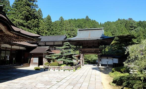 Kongo Sanmai-in Temple, Koyasan, Japan