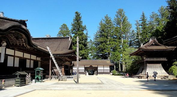Kongobu-ji Temple, Koyasan, Japan