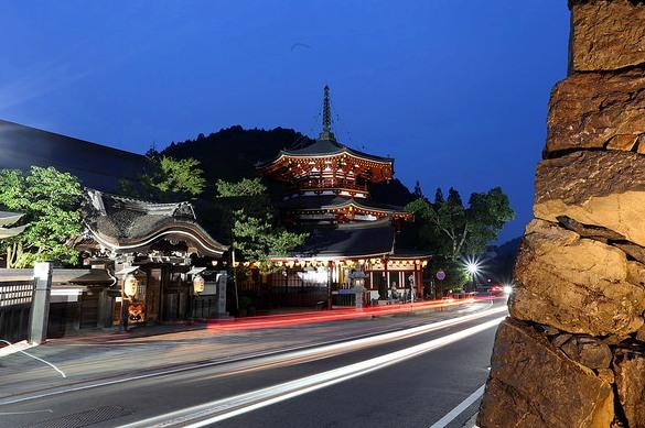 Koyasan at Night, Japan