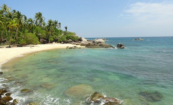 Sai Nuan Beach 1, One of the Best Beaches of Koh Tao, Thailand