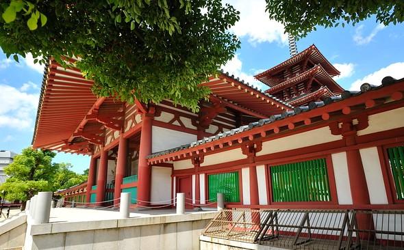 Shitennoji Temple, Osaka, Japan