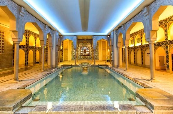 Islam Stone Bath, Spa World, Shinsekai, Osaka, Japan