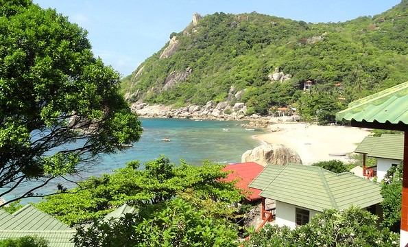 Tanote Bay on the East Coast of Koh Tao, Thailand