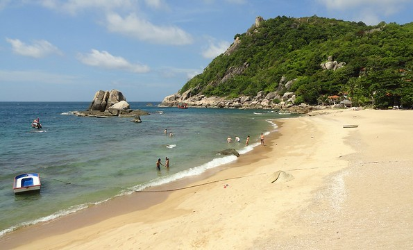 The Beach at Tanote Bay, Koh Tao, Thailand
