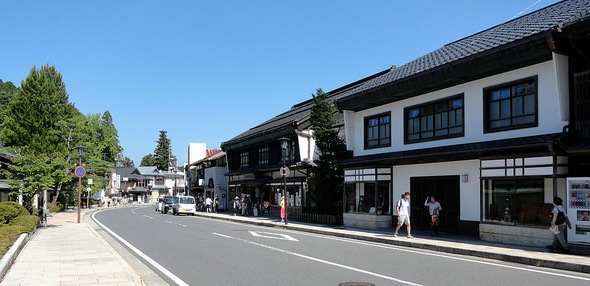 The Center of Koyasan, Japan