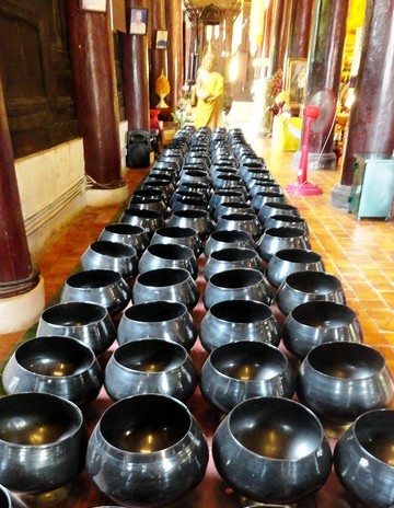 Inside Wat Phan Tao, Chiang Mai, Thailand
