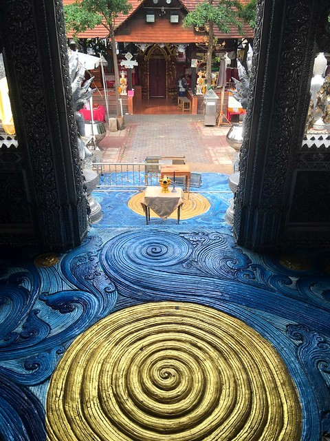 Inside Wat Sri Suphan (Silver Temple), Chiang Mai, Thailand