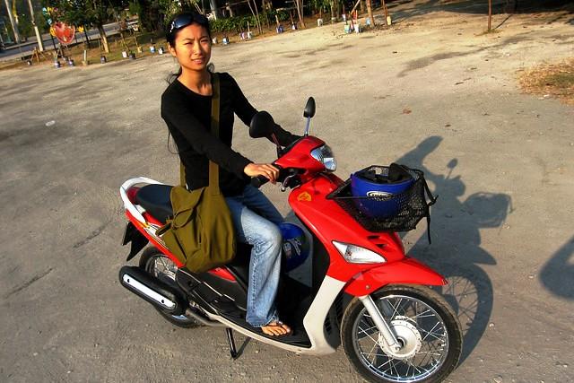 Motorbike, Chiang Mai, Thailand