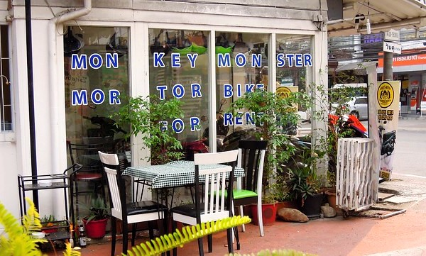 Motorbike for Rent, Chiang Mai, Thailand