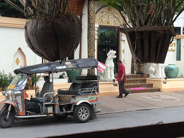 Tuk Tuk in the Old Town, Chiang Mai, Thailand