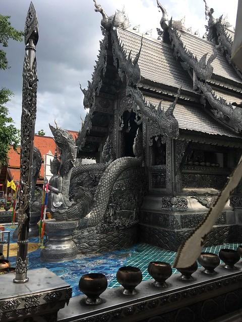 Visiting Wat Sri Suphan (Silver Temple), Chiang Mai, Thailand