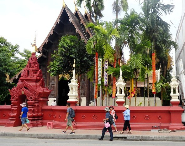 Wat Phan Tao, near Wat Chedi Luang, Chiang Mai, Thailand