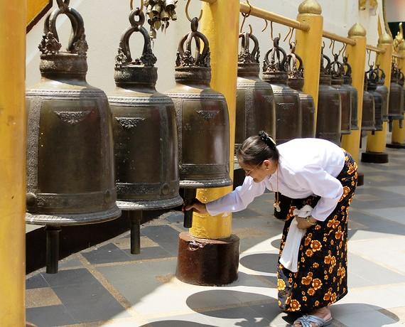 Bells at Wat Phrathat Doi Suthep, Chiang Mai, Thailand