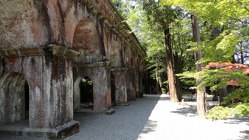 Aqueduct, Nanzenji Temple, North-eastern Higashiyama, Kyoto, Japan