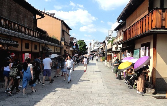 Hanami-koji, Gion, Kyoto, Japan