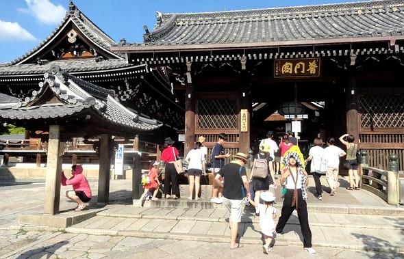 Inside Kiyomizudera Temple, Central Higashiyama, Kyoto, Japan