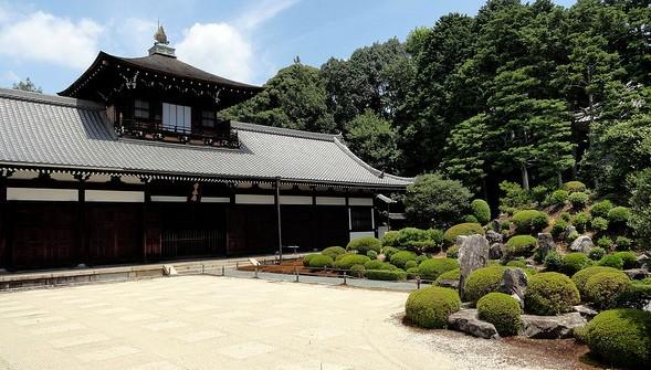 Kaisando Hall, Tofukuji Temple, Southern Kyoto, Japan