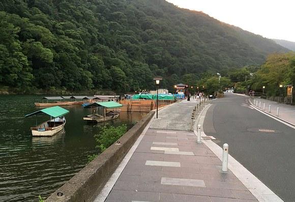 Katsura River, Arashiyama, West Kyoto, Japan