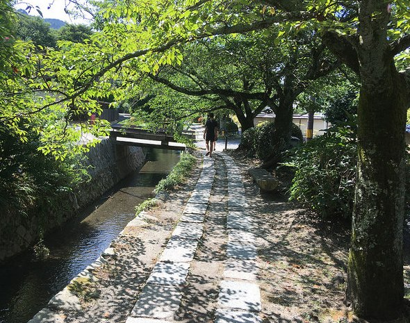 Philosopher's Path, North-eastern Higashiyama, Kyoto, Japan