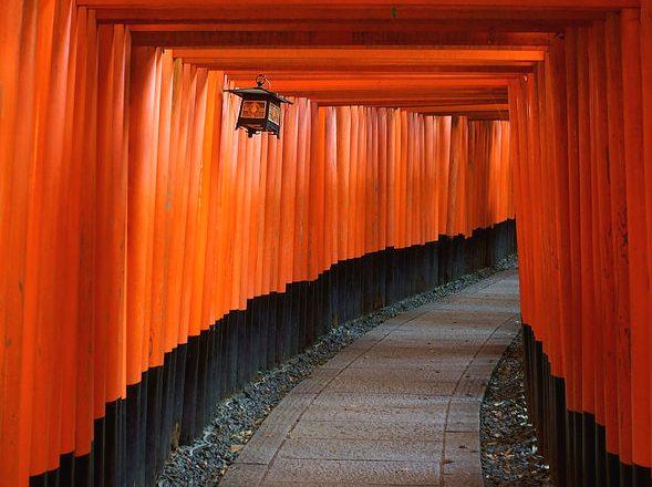 Senbon Torii, Fushimi Inari Shrine, Southern Kyoto, Japan