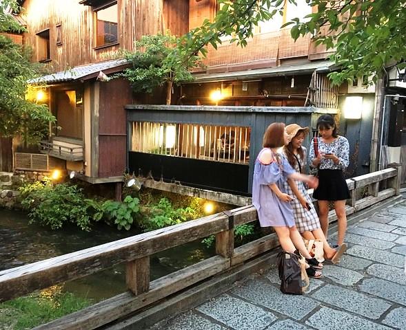 Shimbashi, Gion, Kyoto, Japan
