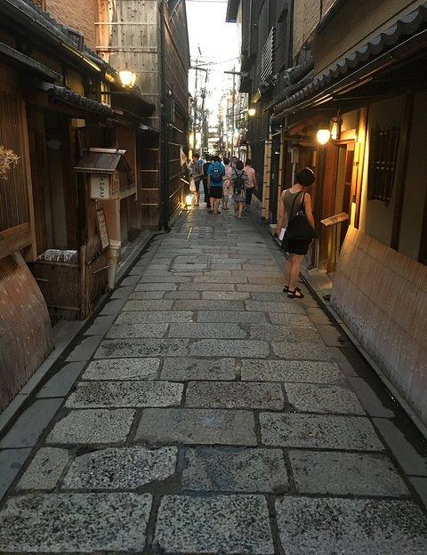 Street of Gion, Kyoto, Japan