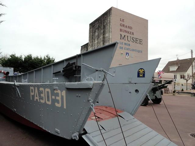 Le Grand Bunker Musée du Mur de l'Atlantique, Ouistreham, Calvados, Basse-Normandie, France