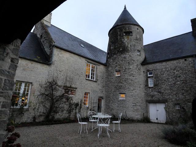 Le Manoir de Juganville, Les Mézières, Saint-Martin-de-Varreville, Sainte-Mère-Église, Calvados, Basse-Normandie, France