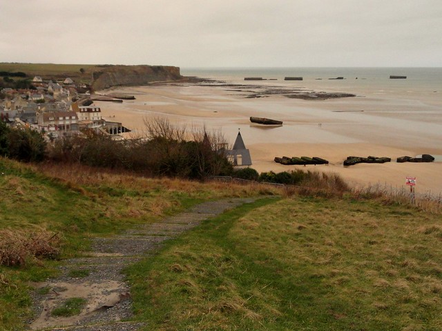 Normandia: Visitare Arromanches ed il Porto Artificiale Galleggiante di Mulberry Harbour