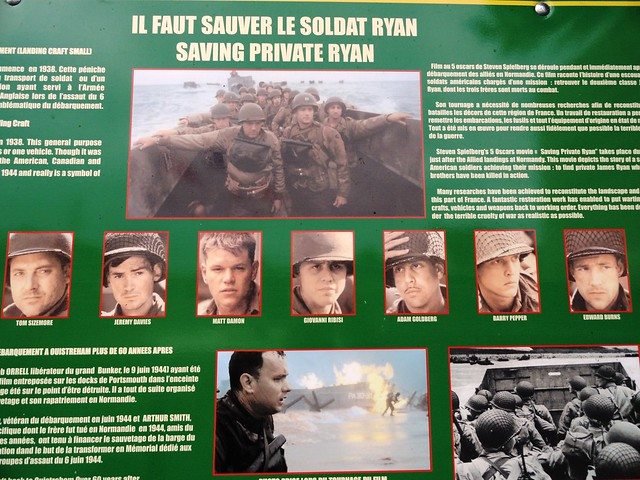 Saving Private Ryan, Le Grand Bunker Musée du Mur de l'Atlantique, Ouistreham, Calvados, Basse-Normandie, France